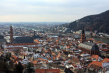 Heidelberg view from castle