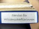 Service für Wissenschaftlerinnen