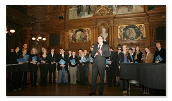 Absolventenfeier, Historisches Seminar, Dezember 2007