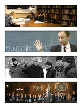 Kollage Historisches Seminar