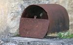 Rostiger Briefkasten