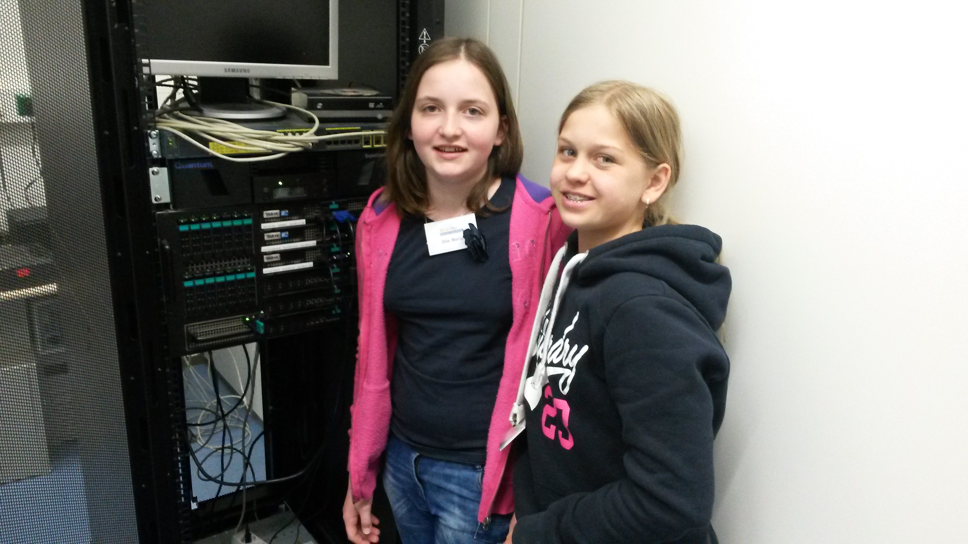 Girls'Day 2015 - in der Elektronikwerkstatt (3)
