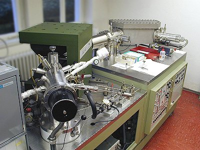 VG ZAB-2F mass BE analyzer