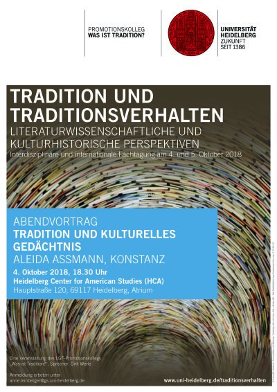 Tagung Tradition Abendvortrag