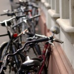Bikes at the University of Heidelberg