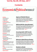 Political And Economic Weekly