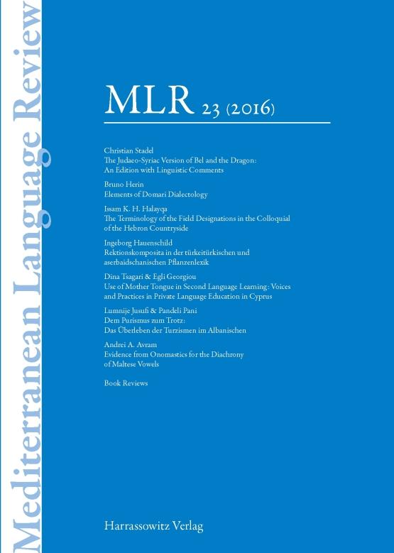 Cover MLR 23