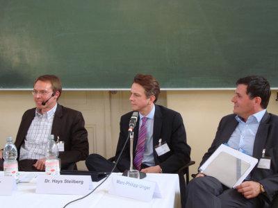 """Podiumsgespräch """"Vernetzt zum Erfolg – Chancen von Web 2.0 beim Berufseinstieg"""""""