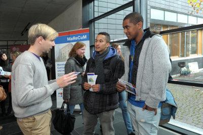 Informationsstand der Medizinischen Fakultät Mannheim