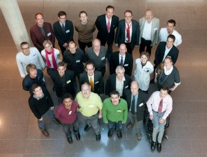 Group foto of the first Master Online APMR class (2010)
