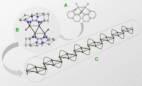überraschende Bindungsknüpfung Des Chemischen Elements Bor