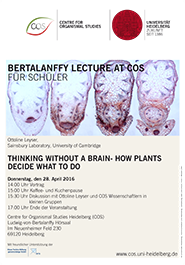 Bertalanffy-Lecture April 2016