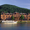 Kongresshaus und Neckar - Copyright Heidelberg Marketing