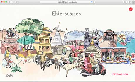 "Online documentary ""Elderscapes"""