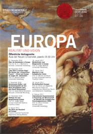 Studiumgenerale Europa Plakat 185x265