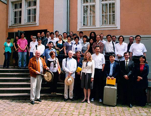 Buddhist Epigraphy, July 2008, Participants
